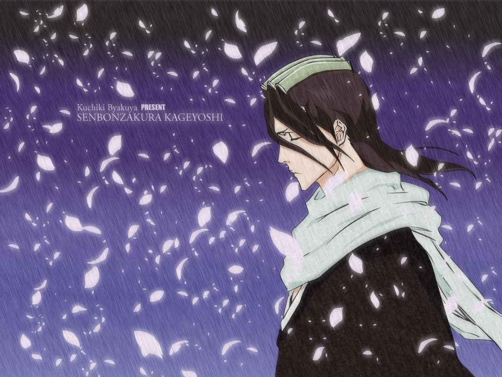 kuchiki byakuya - bleach - wallpaper  951996