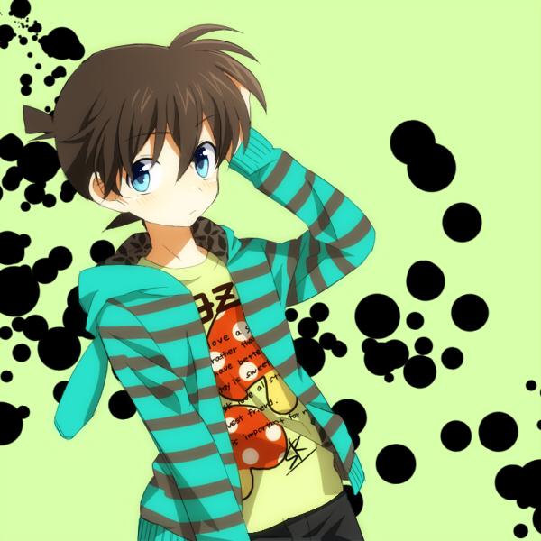 Tags: Anime, Meitantei Conan, Kudou Shinichi, Pixiv, Fanart, Fanart From Pixiv, Jimmy Kudo
