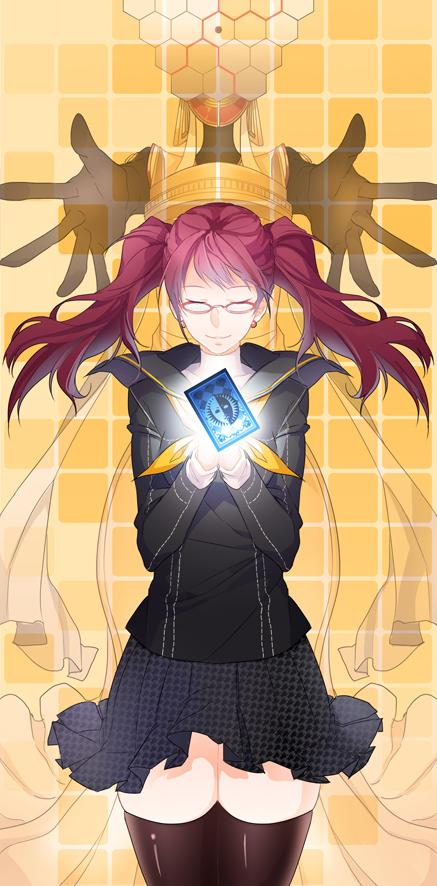 Tags: Anime, Aile (Pixiv946272), Shin Megami Tensei: PERSONA 4, Kujikawa Rise, Himiko (Persona), Fanart, Pixiv