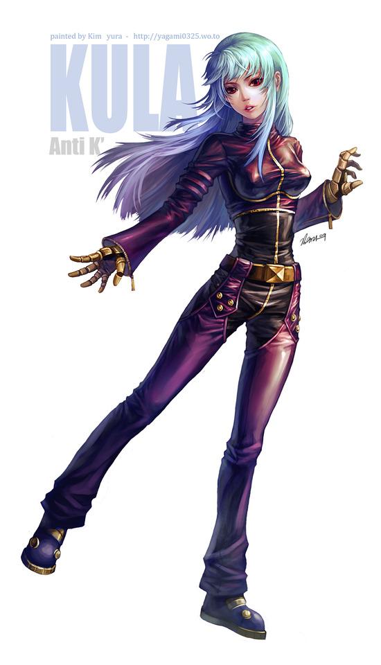 Tags: Anime, Pixiv Id 3491516, The King of Fighters, Kula Diamond, Fanart, Fanart From Pixiv, Pixiv, Mobile Wallpaper