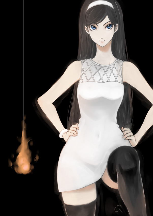 Tags: Anime, Ema (Pixiv713909), Seikimatsu Occult Gakuin, Kumashiro Maya, Fanart, Pixiv