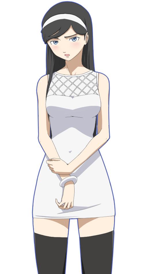 Tags: Anime, Ribonzu, Seikimatsu Occult Gakuin, Kumashiro Maya, Vector