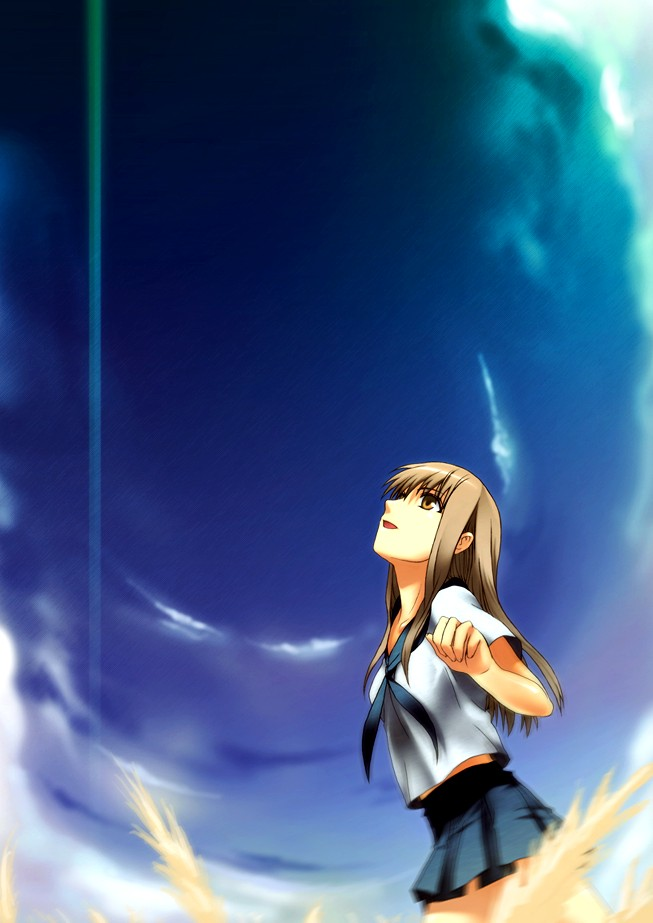 Tags: Anime, Makoto Shinkai, Kumo no Mukou Yakusoku no Basho