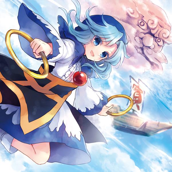 Tags: Anime, Torii Sumi, Hopeless Masquerade, Touhou, Unzan, Kumoi Ichirin, Palanquin, Flying Ship, Fanart, Fanart From Pixiv, Pixiv, Ichirin Kumoi