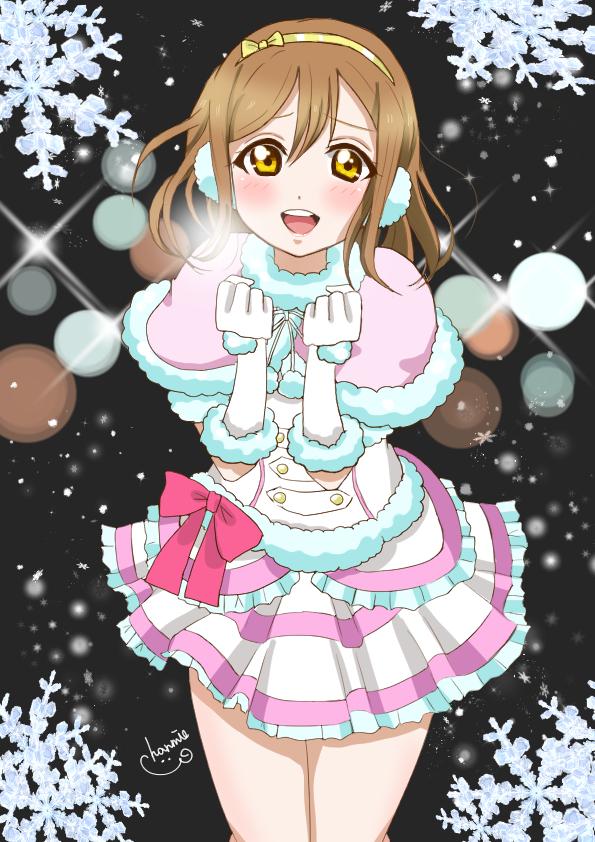 Tags: Anime, Pixiv Id 29660259, Love Live! Sunshine!!, Kunikida Hanamaru, Snow Halation, Hanamaru Kunikida
