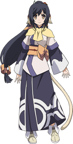 Tags: Anime, Nakata Masahiko, WHITE FOX, Utawarerumono: Itsuwari no Kamen, Kuon (Utawarerumono), Official Art, Cover Image, PNG Conversion