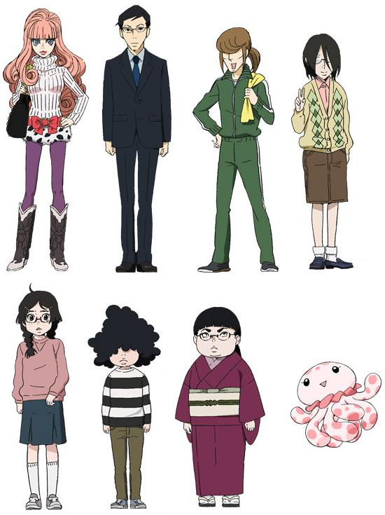 Tags: Anime, Kuragehime, Banba (Kuragehime), Jiji (Kuragehime), Koibuchi Shuu, Kurashita Tsukimi, Chieko (Kuragehime), Clara (Kuragehime), Mayaya, Koibuchi Kuranosuke, Jellyfish, Jellyfish Princess
