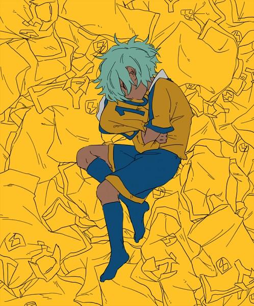 Tags: Anime, Pixiv Id 2071470, Inazuma Eleven GO, Kurama Norihito, On Side, Raimon GO Uniform, T-shirt