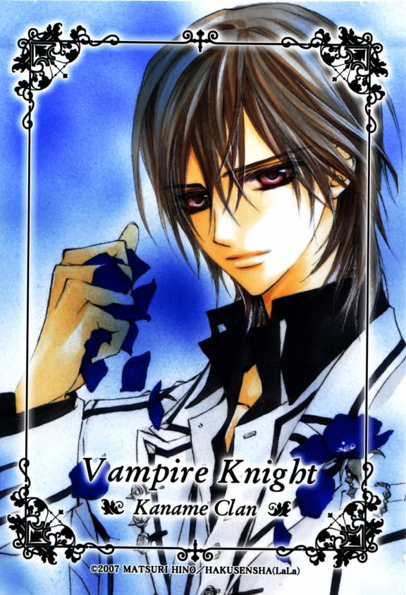 Tags: Anime, Hino Matsuri, Vampire Knight, Kuran Kaname, Mobile Wallpaper