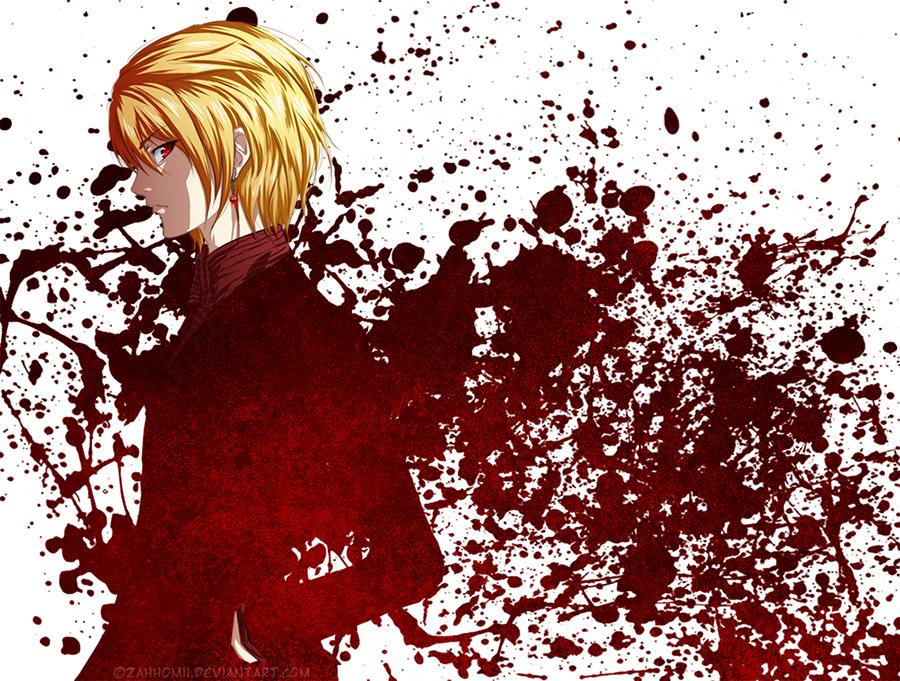 Hunter X Red Eyes