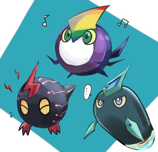 Tags: Anime, Pixiv Id 24184129, Yu-Gi-Oh!, Yu-Gi-Oh! ZEXAL, Kurivolt, Kuriphoton, Rainbow Kuriboh, Mouthless, Yellow Sclera, Pixiv, Fanart From Pixiv, PNG Conversion, Fanart