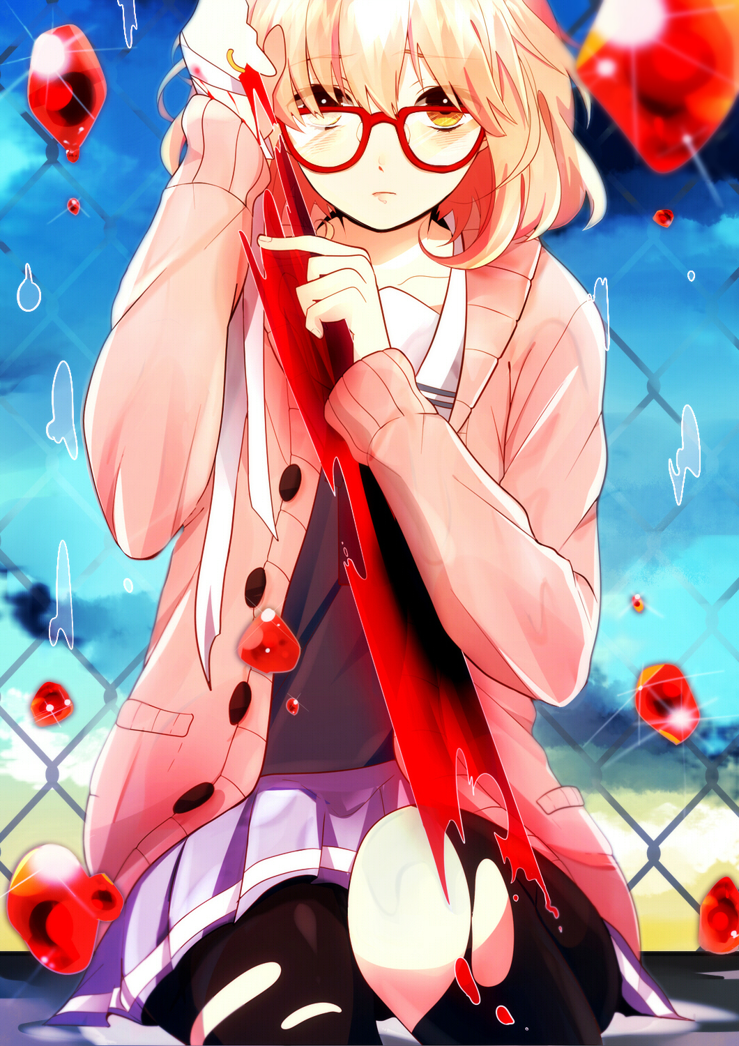Kyoukai No Kanata Beyond The Boundary Mobile Wallpaper Zerochan