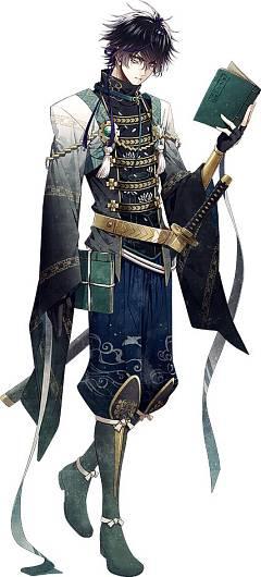 Kuroda Kanbei (Sengoku Night Blood)