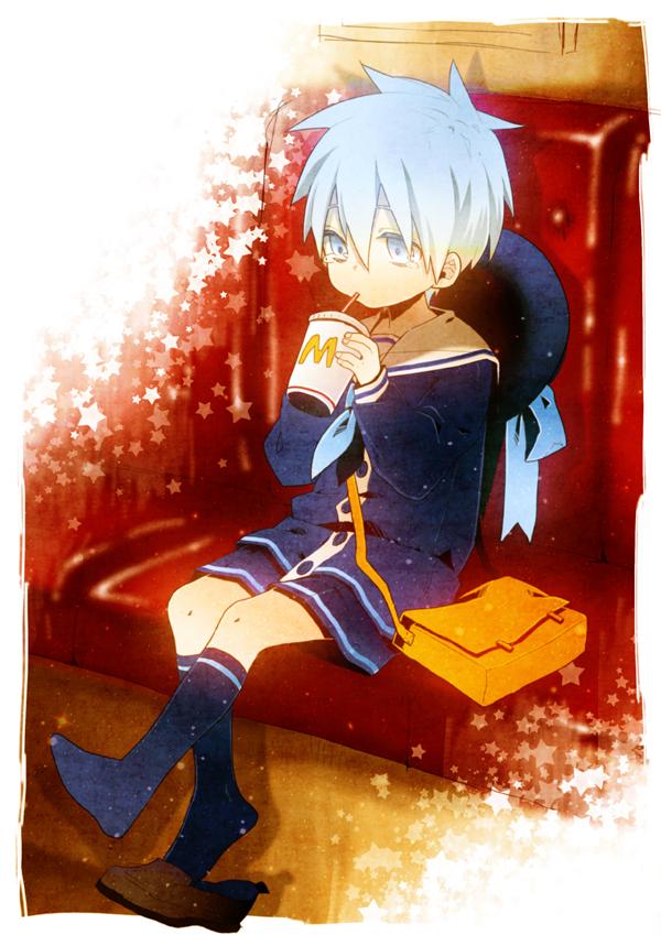 Tags: Anime, Pixiv Id 2217825, Kuroko no Basuke, Kuroko Tetsuya, Mobile Wallpaper