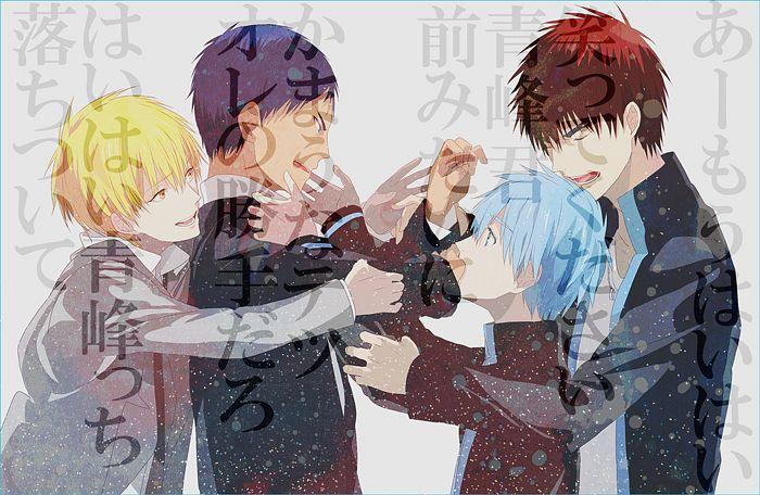 Tags anime four males okazaki oka kuroko no basket kise ryouta