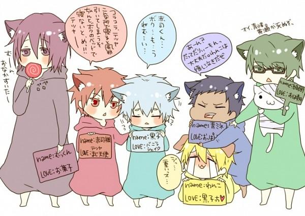 Tags: Anime, Pixiv Id 2646951, Kuroko no Basuke, Aomine Daiki, Murasakibara Atsushi, Kuroko Tetsuya, Midorima Shintarou