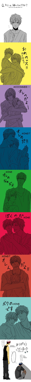 Tags: Anime, Pixiv Id 2329439, Kuroko no Basuke, Kise Ryouta, Murasakibara Atsushi, Kagami Taiga, Kuroko Tetsuya, Akashi Seijuurou, Midorima Shintarou, Aomine Daiki, Rage Comics, Forever Alone, Translated, Kuroko's Basketball