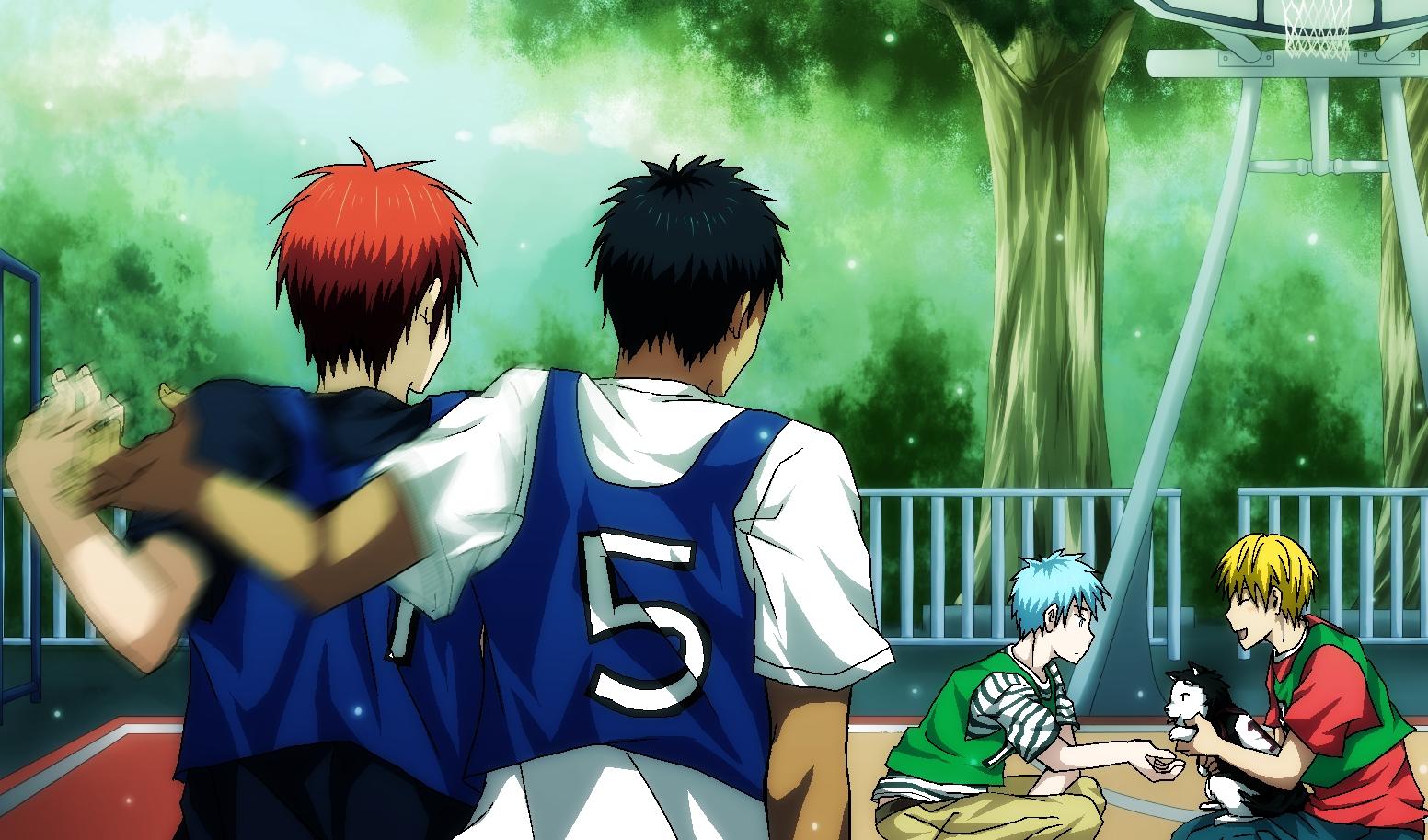 Kagami X Kuroko No Basket