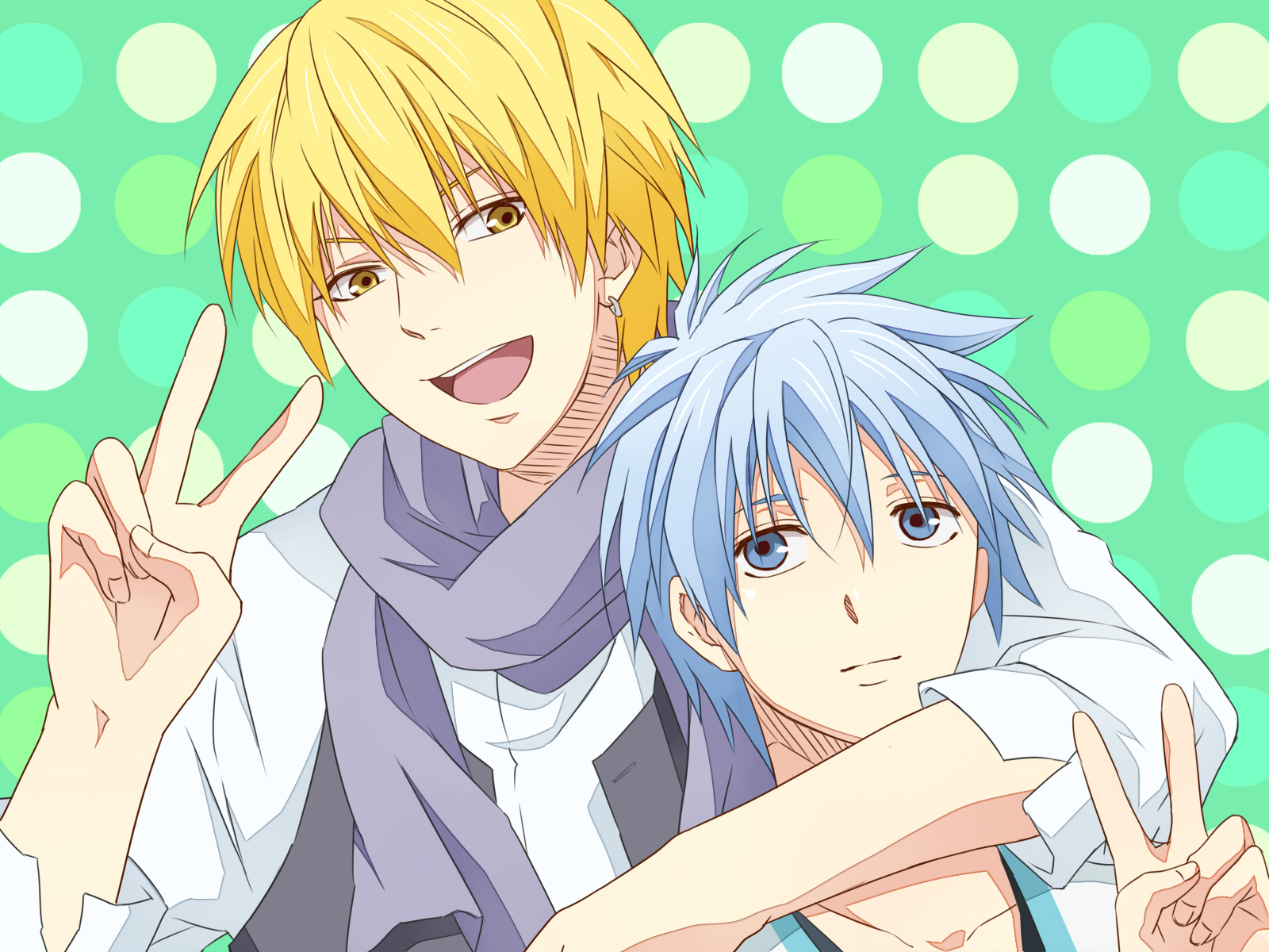 Arm Around Shoulder Drawing View Fullsize Kuroko no Basuke
