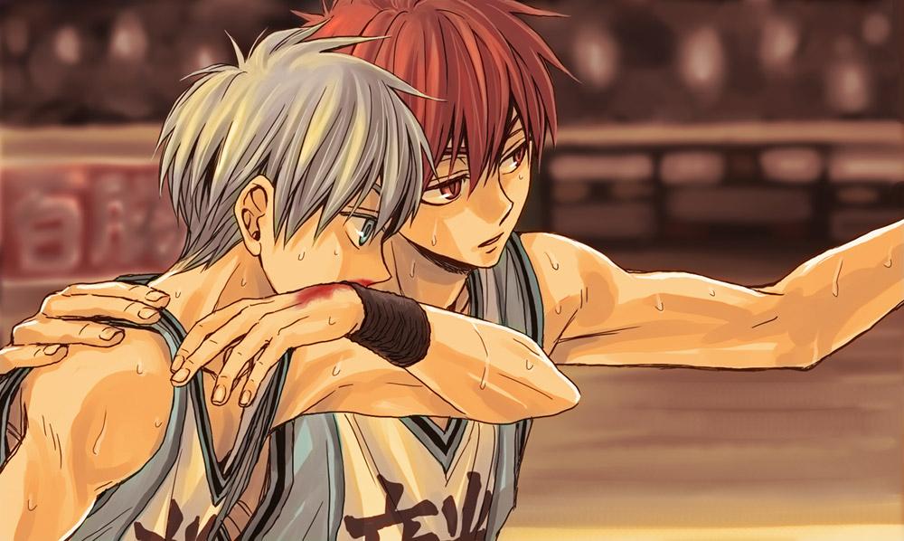 Баскетбол куроко картинки акаши куроко 1