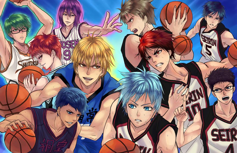 Картинки персонажей аниме баскетбол