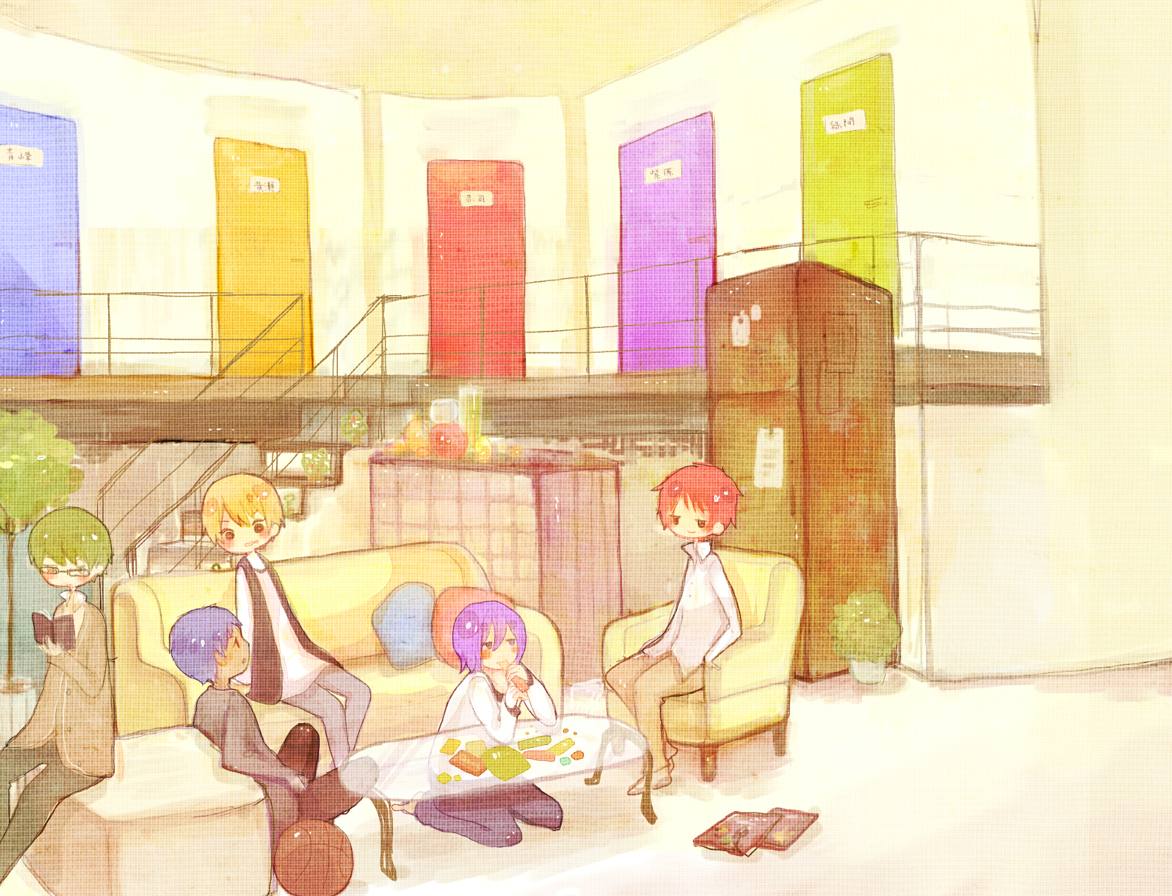 Living Room Zerochan Anime Image Board