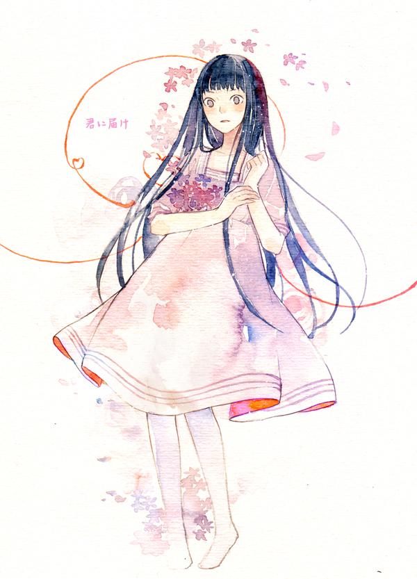 Tags: Anime, Ka Xiao En Ka Shu, Kimi ni Todoke, Kuronuma Sawako, Mobile Wallpaper