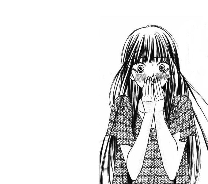 Tags: Anime, Shiina Karuho, Kimi ni Todoke, Kuronuma Sawako, Manga Page, Scan