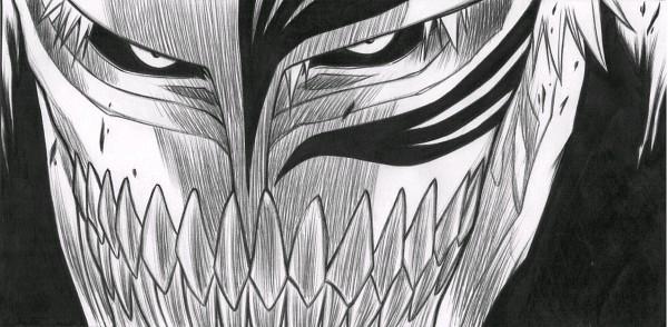 Kurosaki ichigo 1557441 zerochan - Ichigo vizard mask ...