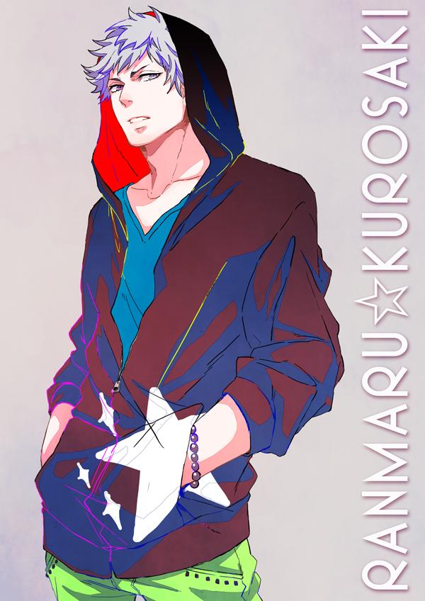 Tags: Anime, Noyu, Uta no☆prince-sama♪, Kurosaki Ranmaru, Fanart, Fanart From Pixiv, Mobile Wallpaper, Pixiv