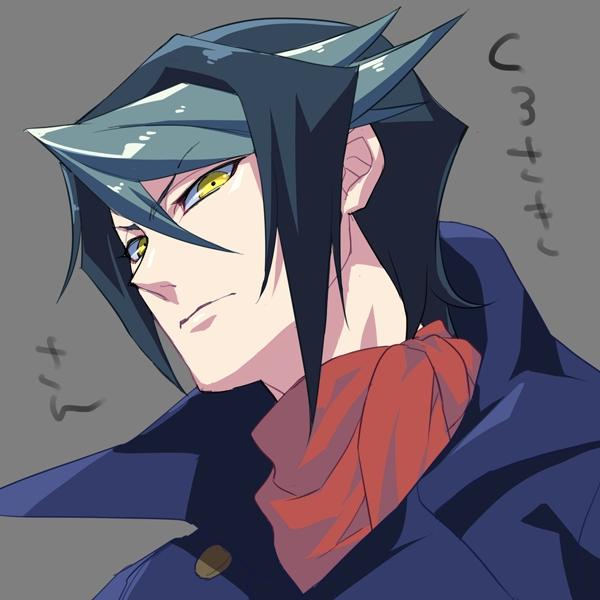 Tags: Anime, Rokuro, Yu-Gi-Oh!, Yu-Gi-Oh! ARC-V, Kurosaki Shun, Fanart, Fanart From Pixiv, Pixiv, Shay Obsidian