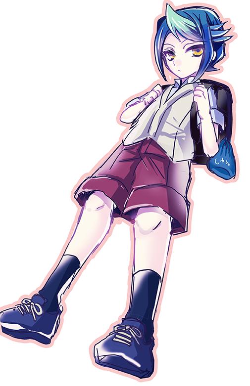 Tags: Anime, Pixiv Id 2337334, Yu-Gi-Oh! ARC-V, Yu-Gi-Oh!, Kurosaki Shun, Mobile Wallpaper, Pixiv, Fanart From Pixiv, Fanart, PNG Conversion, Shay Obsidian