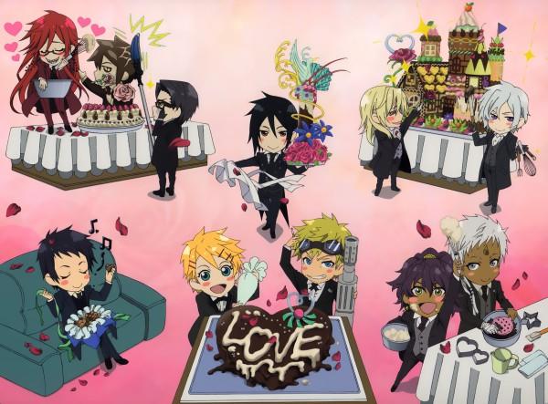 Tags: Anime, SQUARE ENIX, Kuroshitsuji, Finnian, Angela/Ash, Ash Landers, Lau