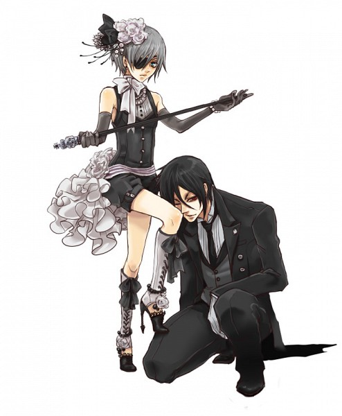 Tags: Anime, Shina Himetsuka, SQUARE ENIX, Kuroshitsuji, Ciel Phantomhive, Sebastian Michaelis, Beads