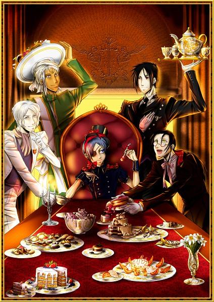 Tags: Anime, Kuroshitsuji, Sebastian Michaelis, Agni, Grell Sutcliff, Ash Landers, Ciel Phantomhive