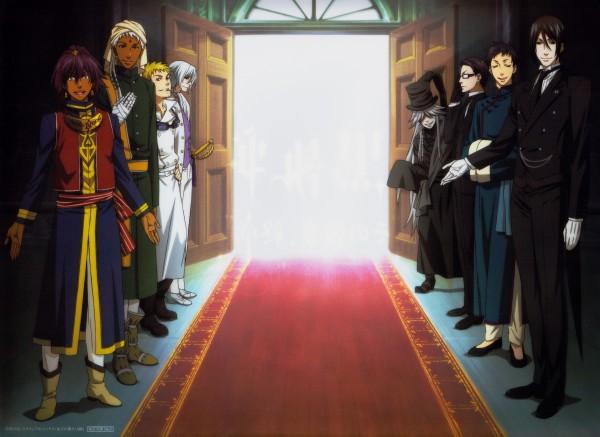 Tags: Anime, A-1 Pictures, SQUARE ENIX, Kuroshitsuji, Agni, Lau, Prince Soma Asman Kadar
