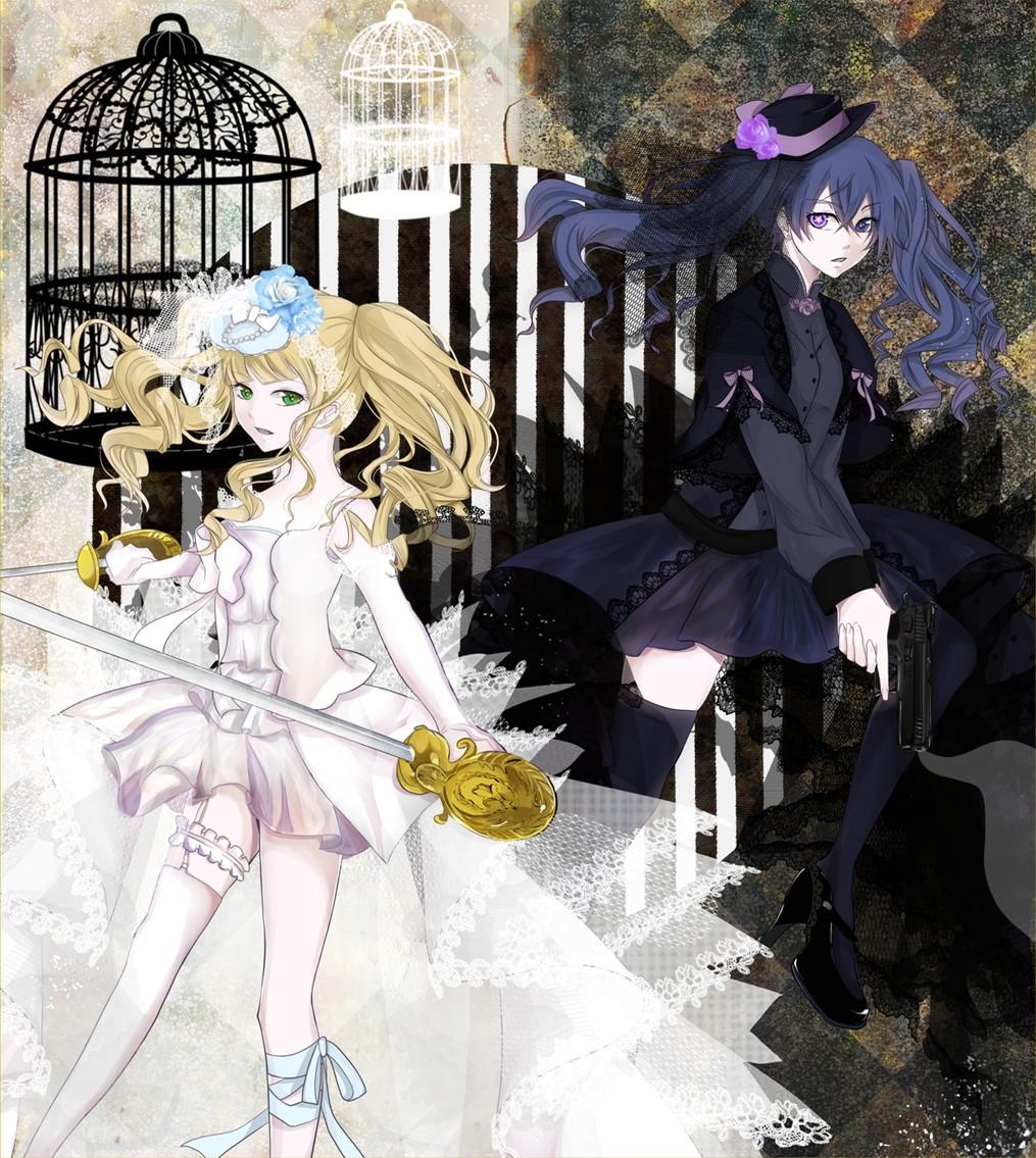 Девушки из аниме темный дворецкий