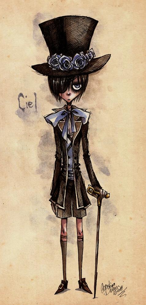 Tags: Anime, Kuroshitsuji, Ciel Phantomhive, Artist Request