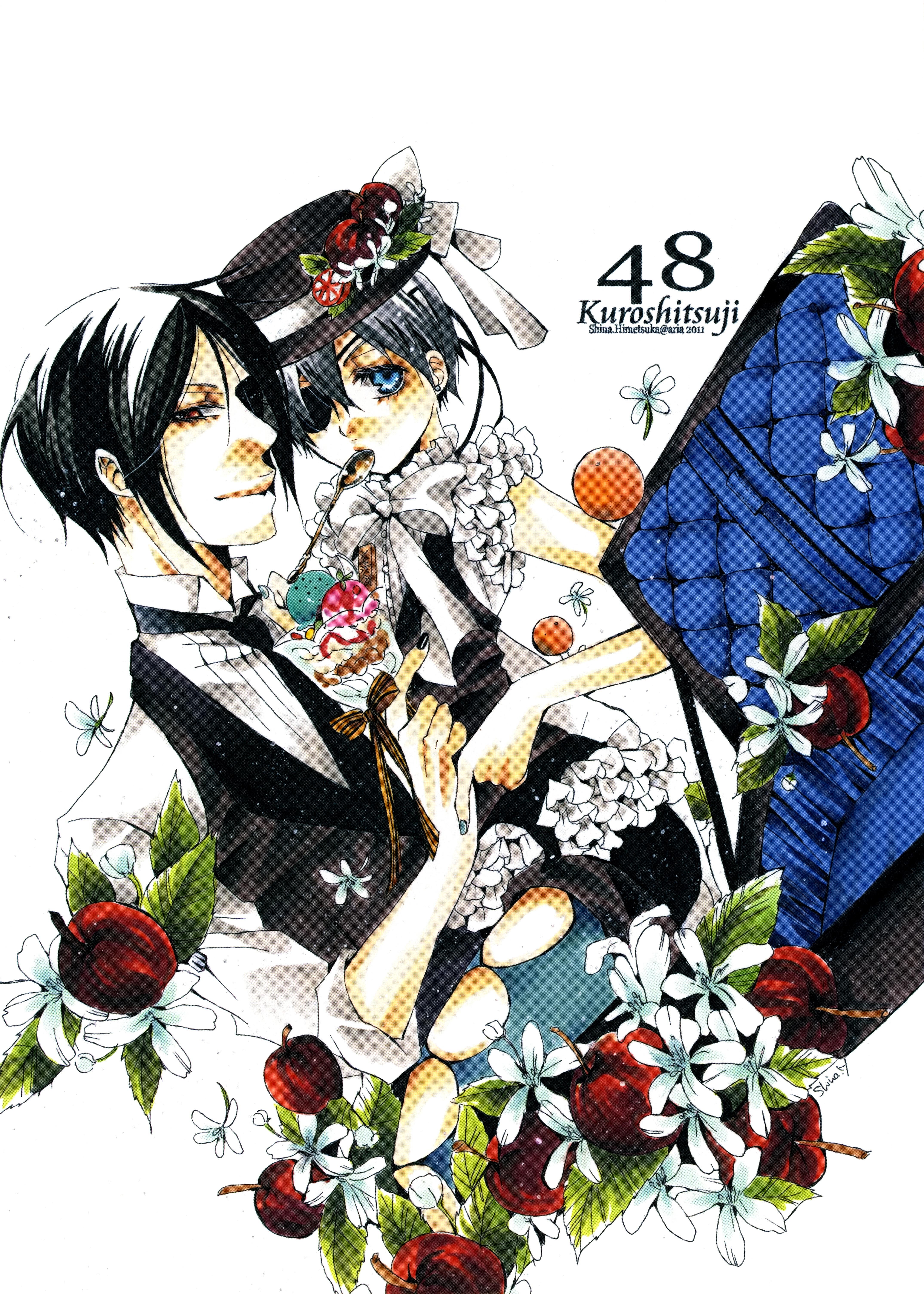 Kuroshitsuji black butler toboso yana mobile wallpaper 1241656 zerochan anime image board - Mobel michaelis ...