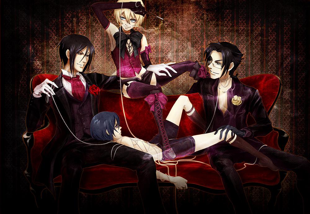Black Butler Alois Shoes