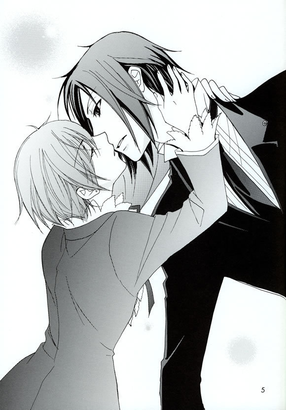 ciel and sebastian kiss - photo #26
