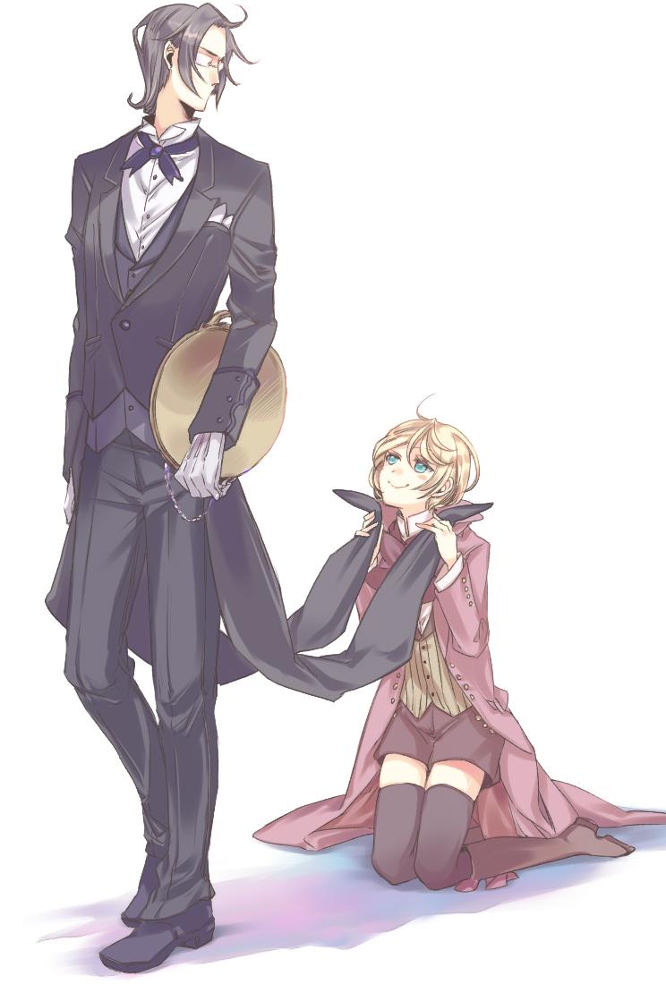 Black Butler Alois And Claude Yaoi