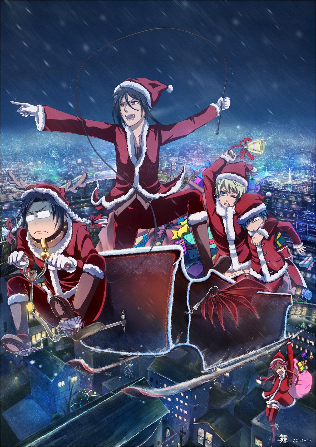 Christmas Anime.Christmas Zerochan Anime Image Board
