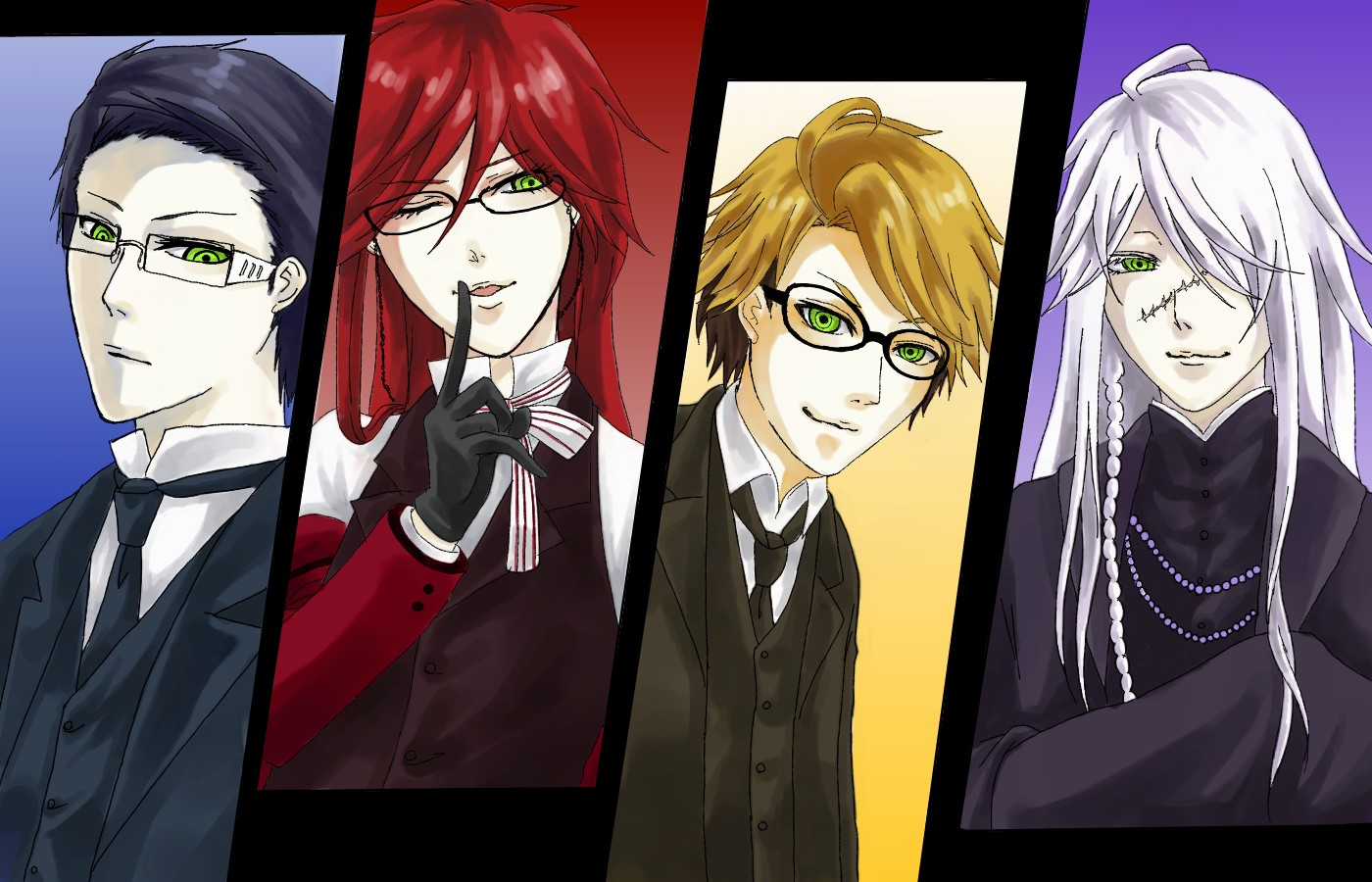 Kuroshitsuji (Black Butler) - Toboso Yana - Image #940158 ...  Kuroshitsuji (B...