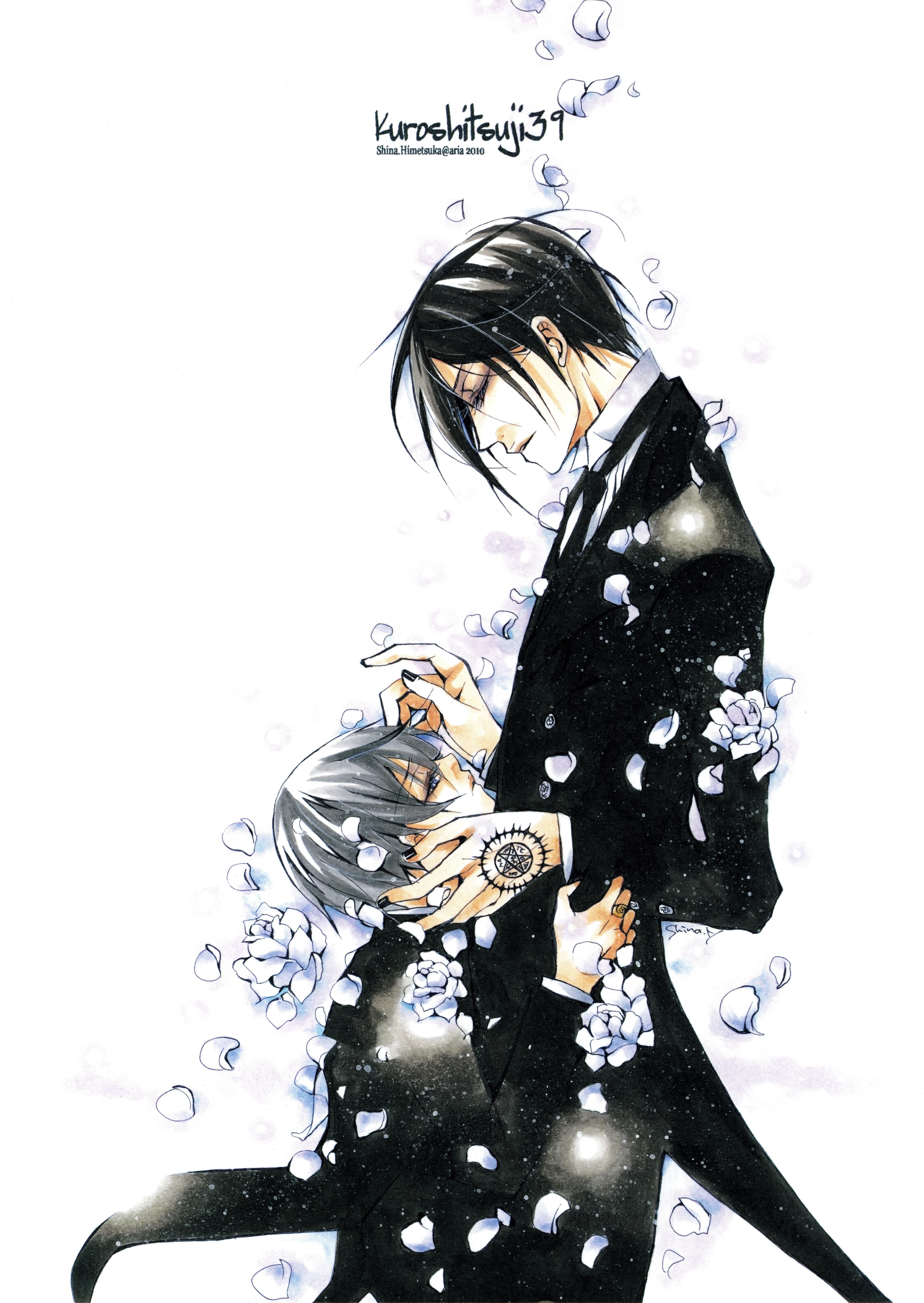 Kuroshitsuji black butler toboso yana mobile wallpaper 991130 zerochan anime image board - Mobel michaelis ...