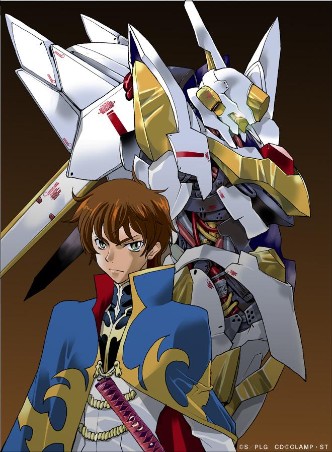 Tags: Anime, Takuma Tomomasa, CODE GEASS: Hangyaku no Lelouch, Kururugi Suzaku, Lancelot (Code Geass), Official Art