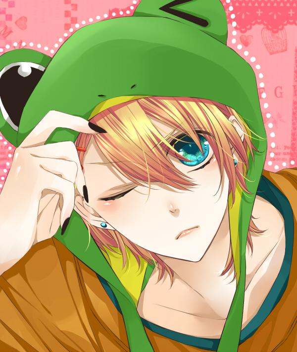 Tags: Anime, Ram (Pixiv1506226), BROCCOLI, Uta no☆prince-sama♪, Kurusu Shou, Frog Hat, Pixiv