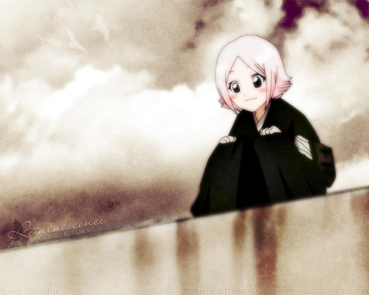 Kusajishi Yachiru Bleach Wallpaper 127292 Zerochan Anime