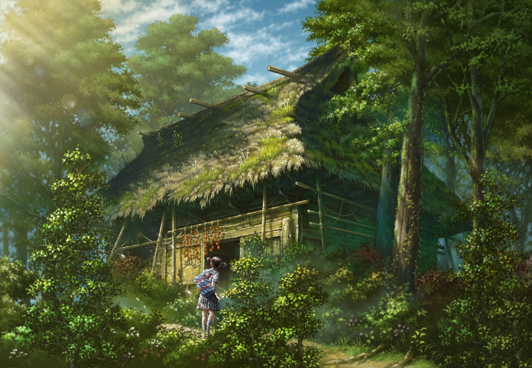 Top Wallpaper Forest Totoro - Kusakabe  Collection_1001725 .jpg