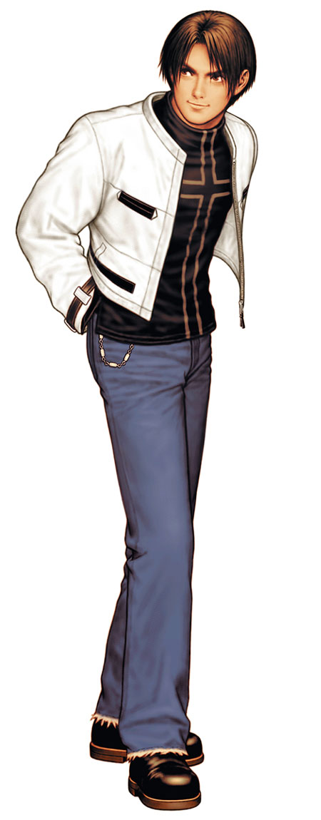 Tags: Anime, Shinkiro, The King of Fighters, Kusanagi Kyou, Official Art